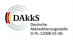 Open DAkkS accreditation certificate in new window